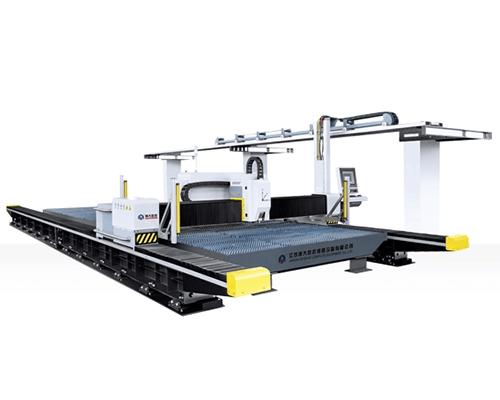 西宁新一代数控龙门高速激光切割机